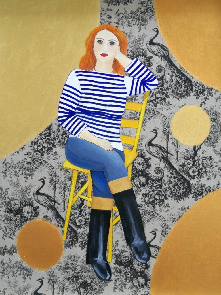 Alexandra (self-portrait)