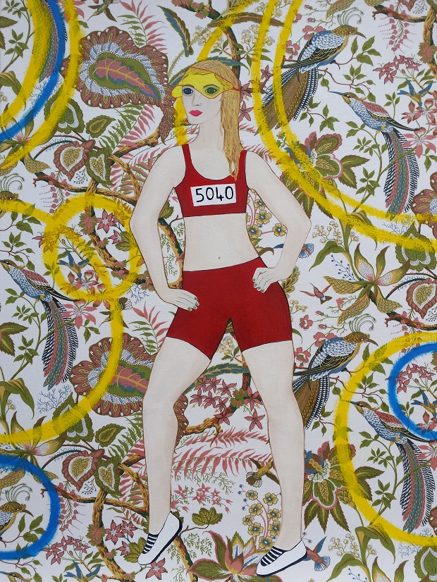 Girl Champion, 102cm x 76cm, 2015