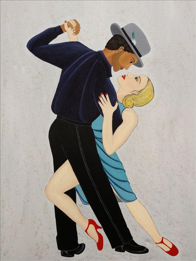 10La Danse, 100cm x 140cm, 2015 – oil on canvas