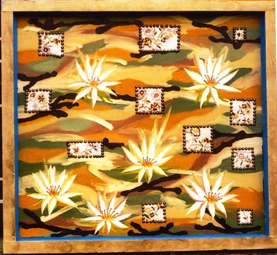 Lotus flower, 1998