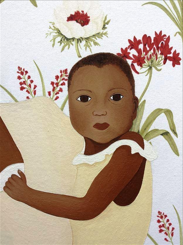 Madonna and Child (Mum and Kid) I - Detail