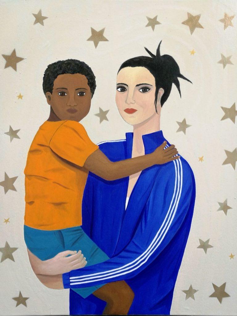 Madonna and Child (Mum and Kid) II