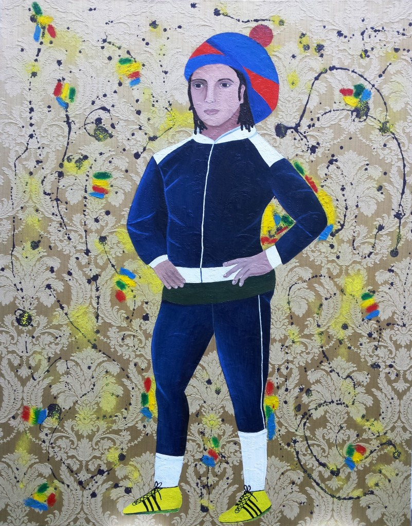 Young Rasta, 120 x 150cm, 2014